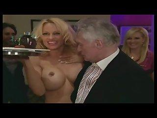 Pamela Anderson nude - Hefner Birthday uncensored