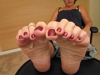 Big cumshot on mature soles heelslovers pornhub