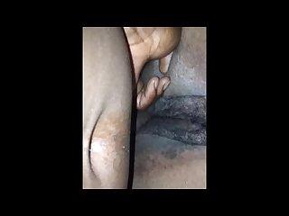 Nasty wet black bbw pussy cumshot