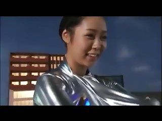 Silver ultra girl behind the scene 2