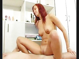Red head gets the ram rod