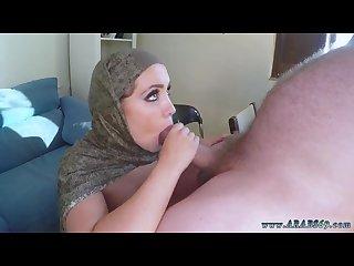 Hot muslim with hijab and arab pov and cuckold femdom slave -bbc -black