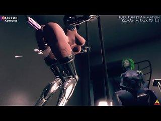 Futa puppet machine motoko komotor animations skyrim