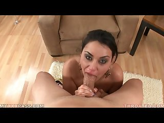 Charley chase give the nasty blowjob
