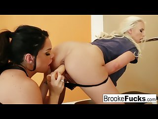Sweaty work out between friends leads to sexy fun stretching