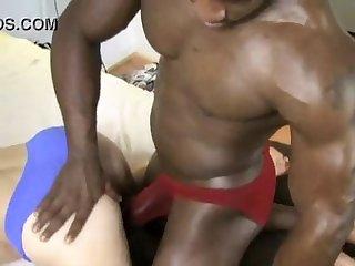 Bodybuilder foreplay