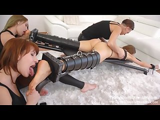 Brutal Tickling party sole up