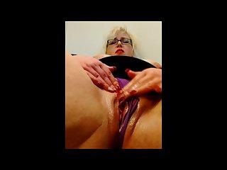 Fingering orgasm
