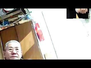 Old man web cam