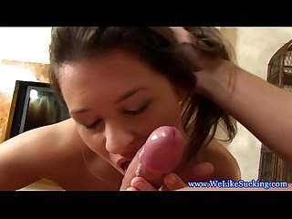 Pretty dick lover teen likes them hard
