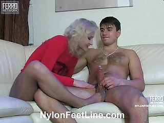 Nylon massage