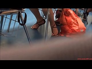 Candid Asian College Student Feet in Sandals Free Porn 50