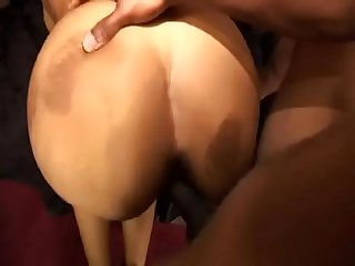 Ebony bitch Destiny Dicks enjoys hard cock