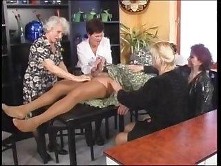 Granny orgy
