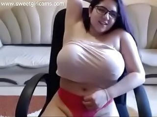 BBW Teen on Webcam