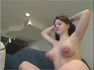 SUPER PUFFY NIPPLES ON SOLO WEBCAM GIRL - www.fuck-se.xyz/livecam