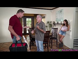 Alluring charlotte cross seduces her horny neighbor