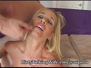 Dirty talking mother fucks hard
