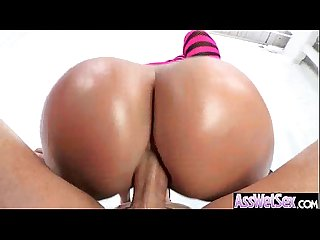 Girl With Oiled Wet Ass Get Her Butt Nailed Deep movie-13