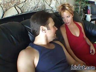 Emily feels extra horny