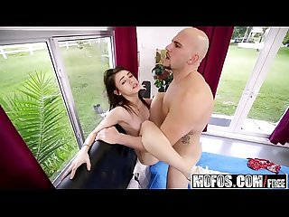 Mofos - Dont Break Me - (Lucie Cline) - Massive Dick Stretches Teen Pussy