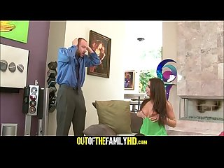 Teen Daughter Caught Step Dad Mastubating