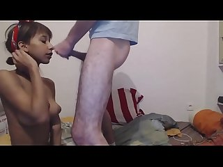 Indian girl fucked and facialized