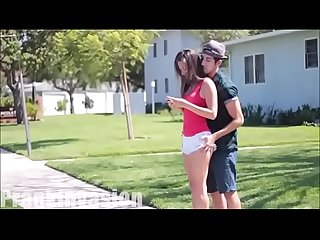 Kissing teen girls and grabbing ass