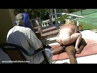 Mature Fat Wife Gets Fucked By Black Bull As Hubby Watches