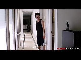 MOM gives a helping mouth to SON- Rosalyn Sphinx