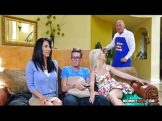 Stepmom Joins In On The Naughty Action - Isis Love, Aubrey Gold