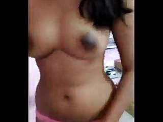 Hot Desi girl getting naked