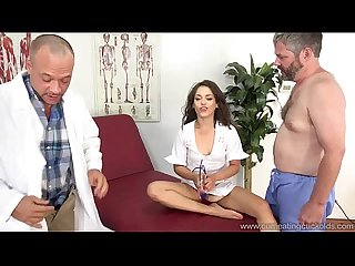 Cum eating cuckolds Ziggy star fucks her hubby s co worker