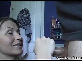 Amateur handjob