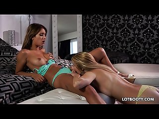 Lovely two juicy ass lesbians Uma Jolie and Blake Ede
