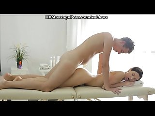 Steamy HD fucking movie with a skinny brunette scene 1