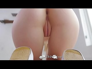 Tiny4k Dripping wet blonde petite Lily Rader fuck and facial