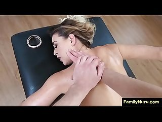 Erotic massage sexy mom