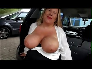 German bbw milf fucked in the back of a car pumhot period com