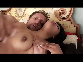 School Girl Rhianna Ryan Has Her Ass Eaten By Much Older Man
