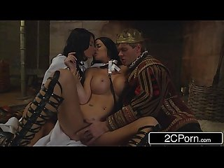 The game of thrones Xxx parody Storm of kings anissa Kate comma jasmine jae