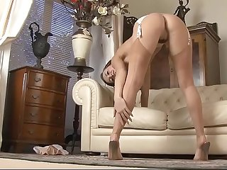 Amazing stockings tease free nylon porn video 2f xhamster