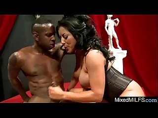 (kiara mia) Sexy Slut Milf Love To Suck And Bang Big Black Cock video-28