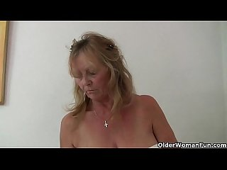 British granny isabel has big tits and a fuckable fanny