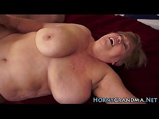 Old lady masseuse fucked