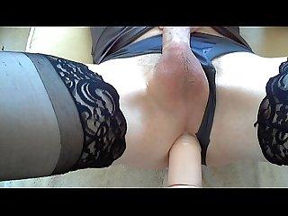 Deep anal fucking my sex machine