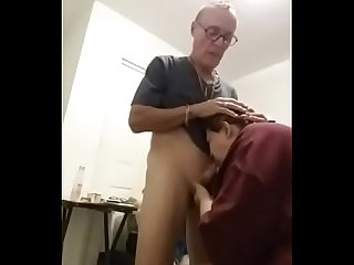 Princess danyza doing a blowjob