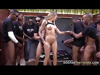 Juelz Ventura Gets A Bunch Of Black Cocks To Please