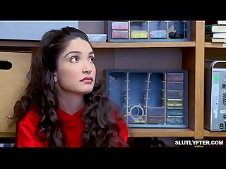 Jericha Jem deep throat blowjob the LP Officers thick cock!
