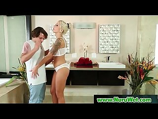 Amazing nuru massage fuck and slippery massage sex video 16